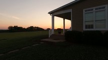 Honey Brook Farm at sunrise