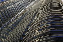 windows of a sky scraper in Malaysia