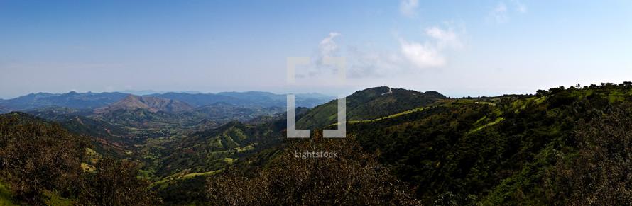 panorama of Ethiopian landscape