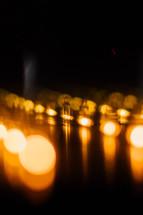 bokeh light rays