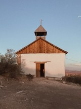 old chapel in the desert