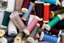 Assortment of Sewing Threads