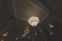 hanging lights from a celling