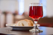 bread and wine goblet