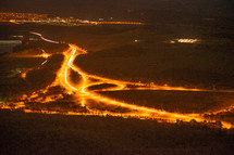 Canberra at night