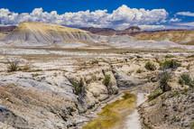 view of a desert landscape in Utah