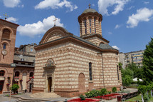 Saint Anthony Church is an orthodox church in the heart of Bucharest, Romania