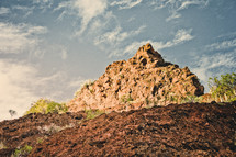 rock peak in Teneriffa
