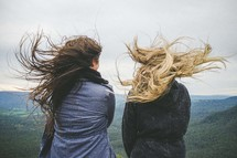 friends enjoying the view