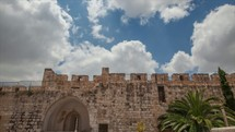 A few time-lapse shots around the walls of Old Jerusalem.