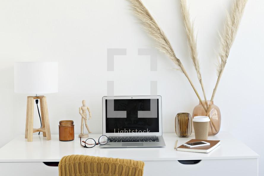 fall workspace