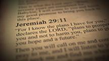 Jeremiah 29:11