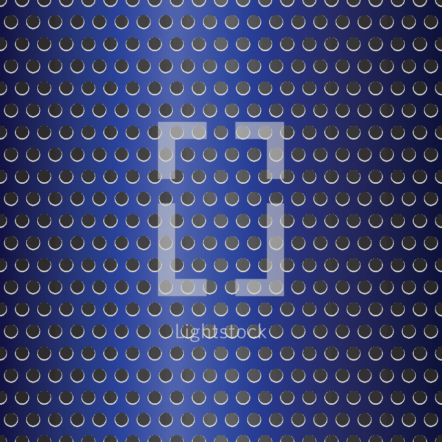 blue chrome punched metal background