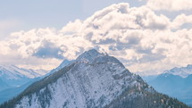 The Canadian Rockies during the day