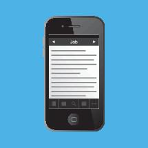 Job on a Bible app