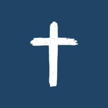 simple white cross