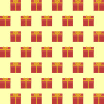 Christmas gift pattern