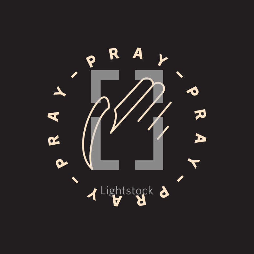 Pray badge