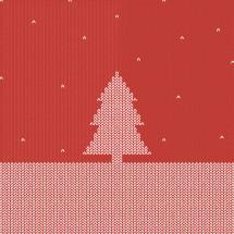 Christmas tree sweater.