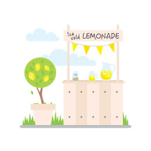 Lemonade stand to raise money