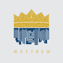 Matthew, crown, city, cityscape, unhidden media