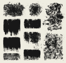wood, scratch, sponge paint, black, backgrounds, stamps