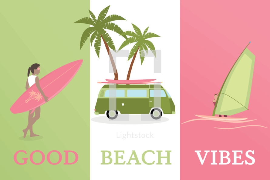 good beach vibes