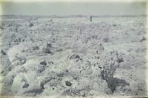 volcanic depression landscape