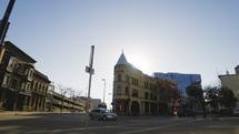 urban intersection