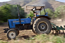 Kurd, Turk, Turkish, Kurdish, farmer, tractor