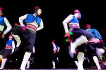 Turkish boys doing folk dance