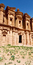 ancient monastery in Jordanian land