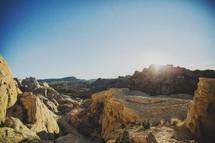 desert mountains canyon