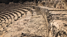ancient amphitheater stairs
