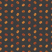 jack-o-lantern pattern background