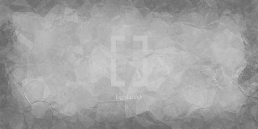 gray random geometric backdrop with border add your own color.