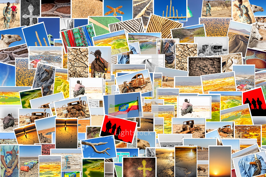 photographs from all over Africa background