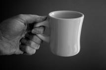 handing coffee