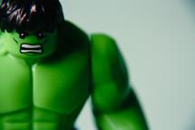 Angry Lego Incredible Hulk