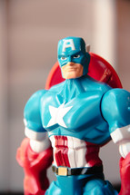 Patriotic captain America Action Figure Toy