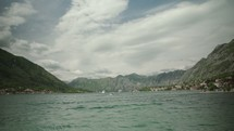 open water in Kotor, Montenegro