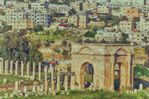 antique archeological site classical heritage