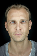 closeup portrait of a man