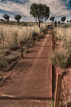 trail through the outback