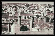 ruins at a classical heritage site in Jordan