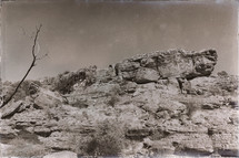 cliff in the Australian Outback