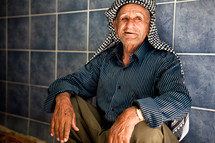 Kurdish village elder