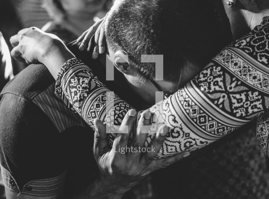 Hugging through acceptance
