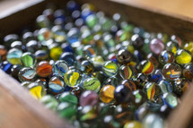 an old box of marbles