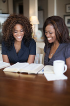 women at a Bible study